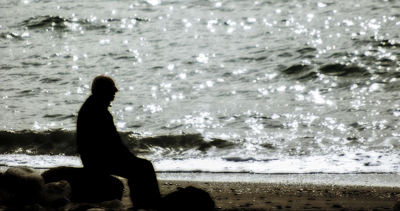 Abuelo en el Mar