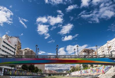 Puente en Málaga